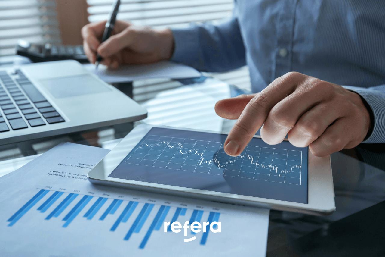 Imagem ilustrando o uso de dados em um negócio